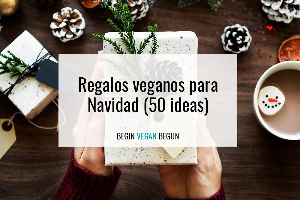 regalos veganos para navidad 50 ideas