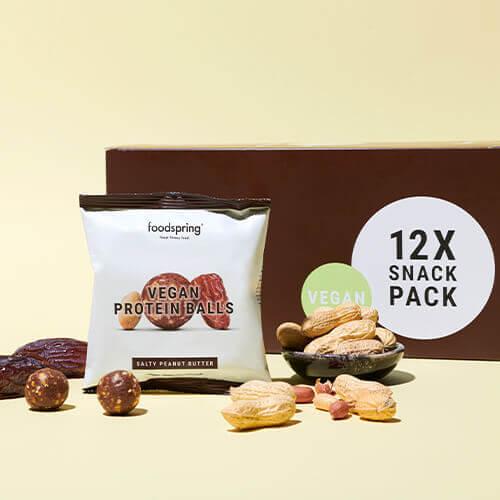 bolitas proteicas veganas de chocolate