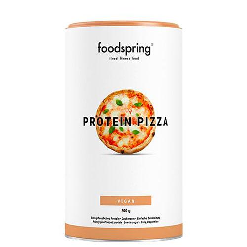 Pizza proteica vegana