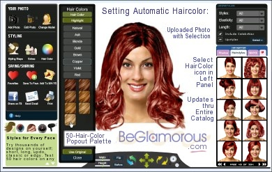Change Hair Color Online Upload Your Photo Virtual Hair Color