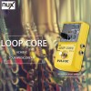 NUX-Loop-Core-Guitar-Effect-Pedal-True-Bypass-Design-Loop-Core-with-Aluminum-Alloy-Housing-Built
