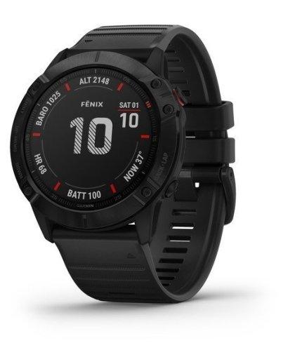Bėgimo laikrodis Garmin Fenix 6X Pro Black (2)