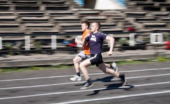 бег на 30 метров