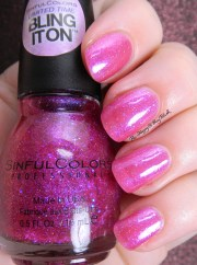 sinful colors bling nail