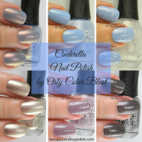 Orly Color Blast Cinderella Nail Polish Collection (partial)