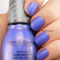 Sinful Colors Purple Kraze nail polish swatch + review [Kylie Trend Matters Collection]