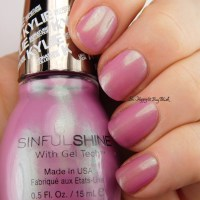Sinful Colors Sinful Shine Miss Majesty nail polish swatch + review [Kylie Signature Collection]