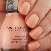 Sinful Colors Kylie nail polishes V.I.Peach, Butter Kup, Kool as a Kukumber, Magik Touch swatches + review