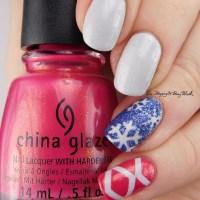 Pick Three Polishes: Model City Polish Glisten, Fancy Gloss Ocean Pixie, China Glaze Strawberry Fields
