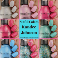 Sinful Colors Kandee Johnson nail polish collection