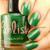 Pahlish Test Batch polishes swatches + review