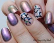 nail art happy and polish