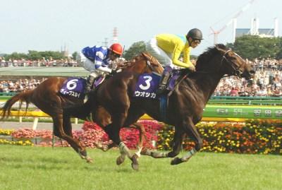 2009年安田記念を制したウオッカ
