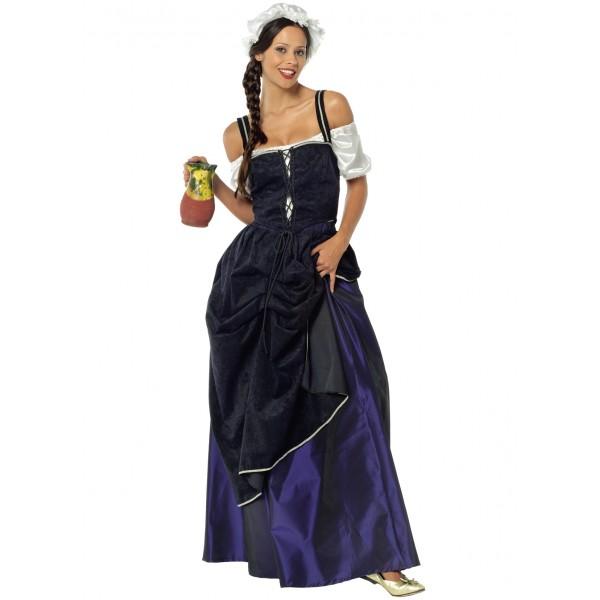costume paysanne medievale