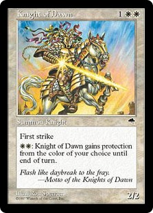 Knight of Dawn, Tempest, Artist: Ron Spencer