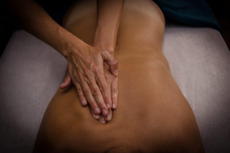 massage du dos à passy