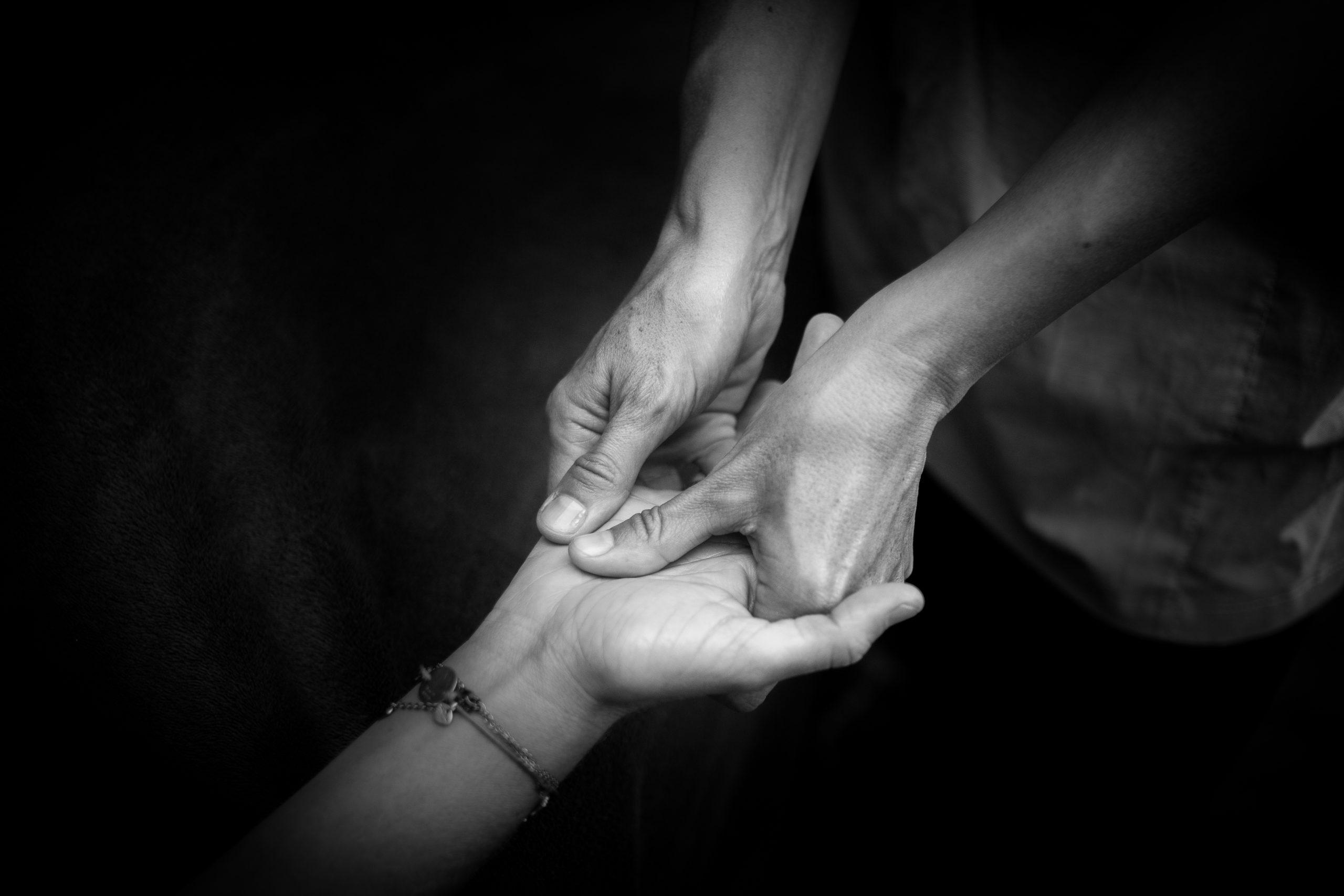 massage mains