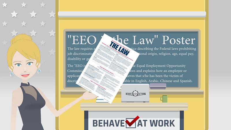 eeo is the law poster behave at work
