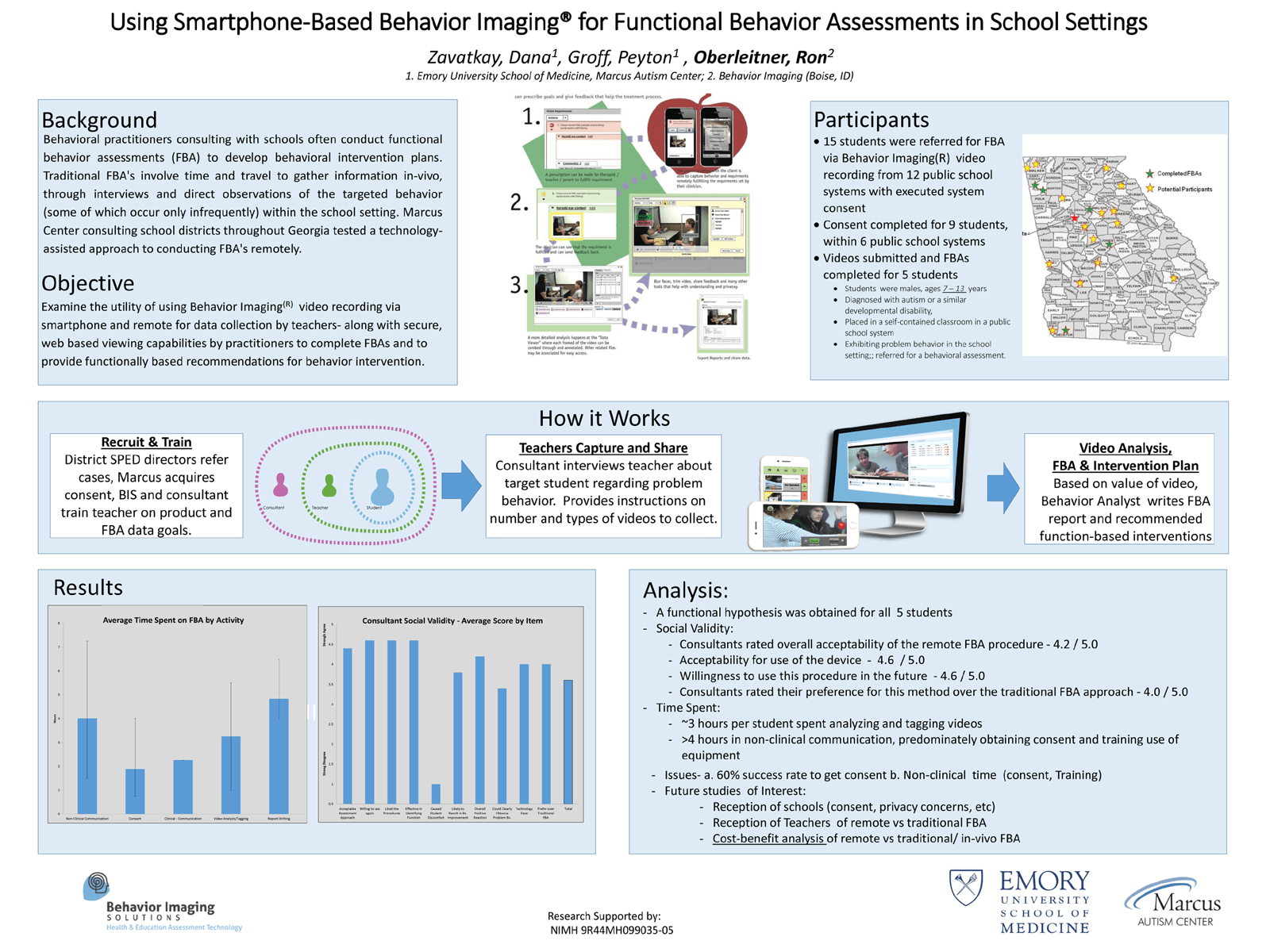 Research Presented At Association For Behavior Analysis International  Autism Conference – Behavior Imaging