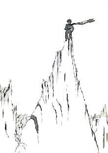 شهریار کوچولو بر قلهی کوهِ بلند