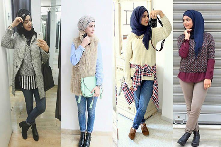Kenakan Bootsmu Blog Behijab Koleksi Hijab Fashion Terbaru Cuman Di