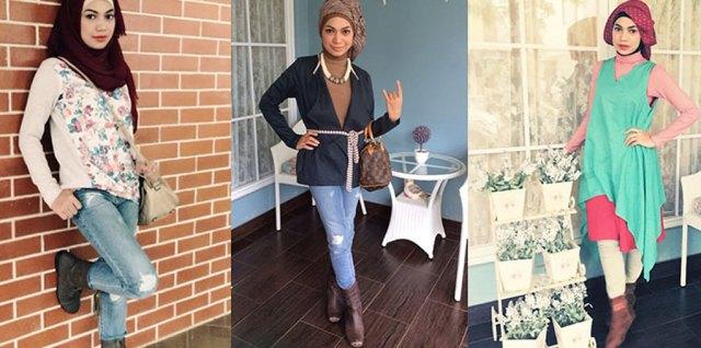 Berhijab Dengan Gaya Tomboy Blog Behijab Koleksi Hijab Fashion Terbaru Cuman Di Behijab Com