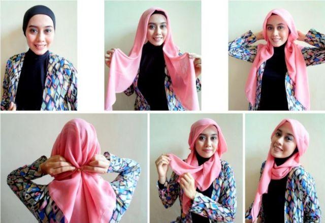 Ide Gaya Hijab Segi Empat Yang Musti Kamu Coba Blog Behijab Koleksi Hijab Fashion Terbaru Cuman Di Behijab Com