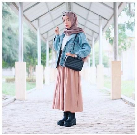 Tiga Gaya Busana Yang Wajib Kalian Gunakan Saat Berangkat Kuliah Blog Behijab Koleksi Hijab