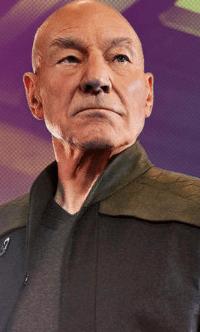 Picard (Sir Patrick Steward)