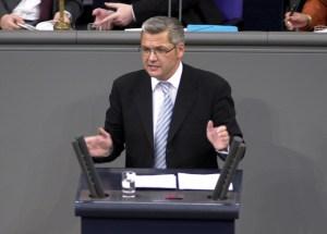Engagierter Redner im Deutschen Bundestag: Hubert HŸppe