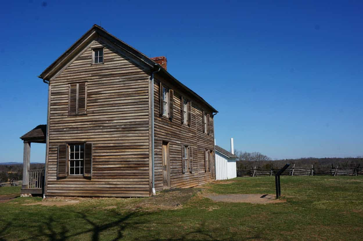 Henry House Bull Run Manassas