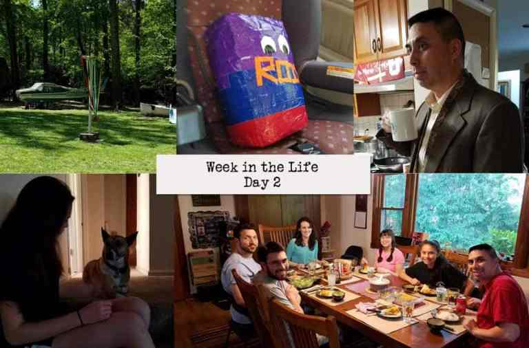 Tuesday (Week in the Life 2018 – Day 2)