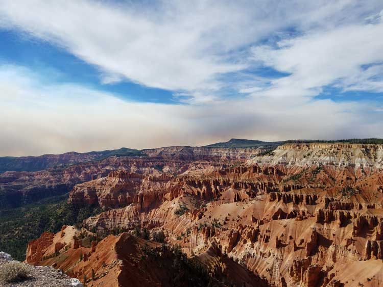 big trip 13 at cedar breaks national monument in utah