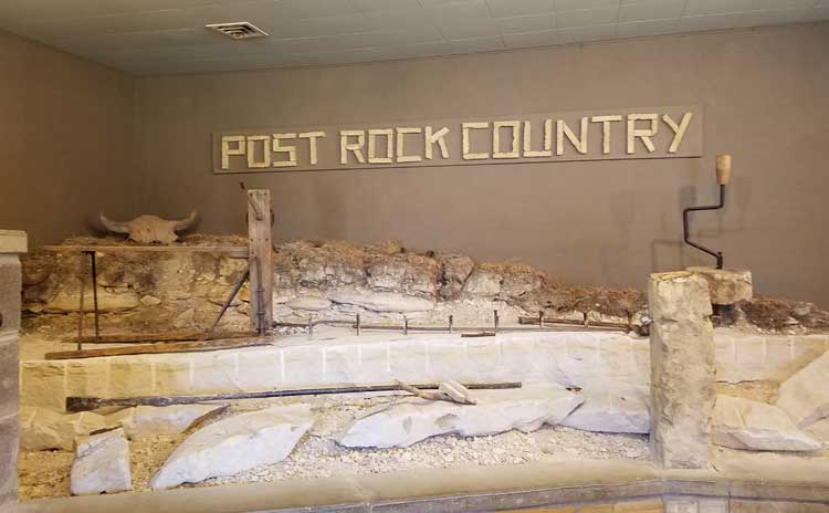big trip 13 visits post rock museum in kansas to learn about limestone