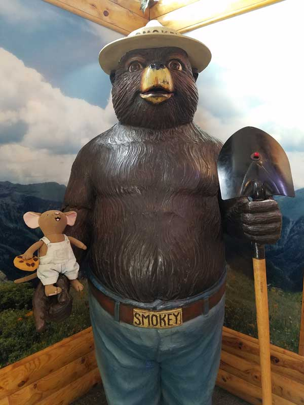 big trip 13 visits smokey the bear's grave in new mexico