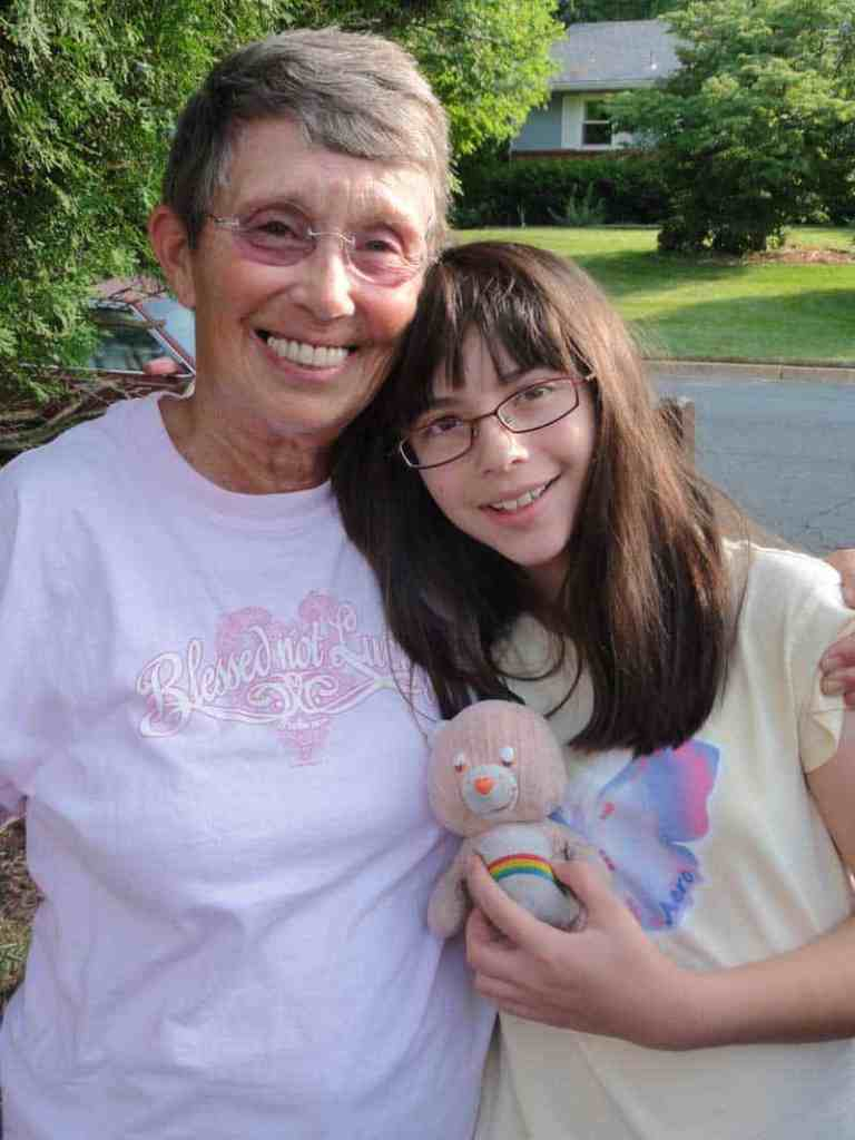 care bear with grandma
