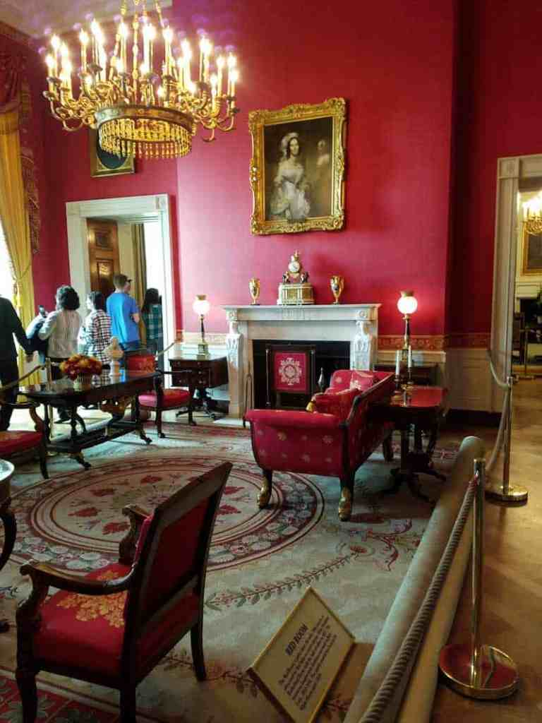 Red Room at the White House