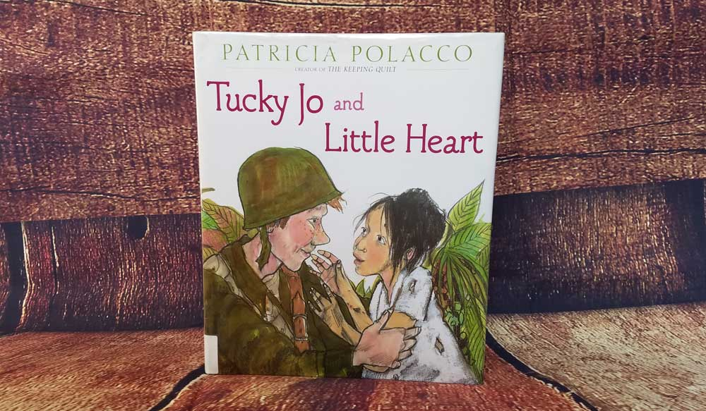 Tucky Jo and Little Heart written by Patricia Polacco tells a story of an American soldier in the Philippines during World War II good for veterans day