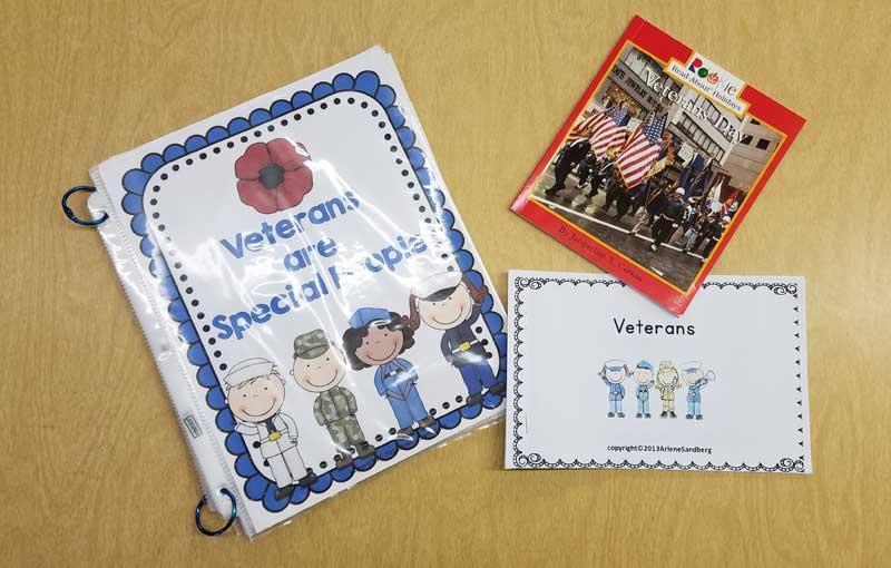 veterans day books for kindergarten