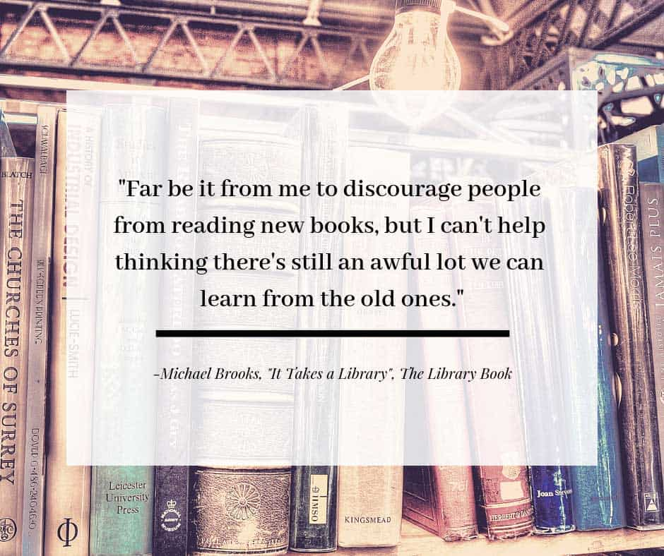 It Takes a Library by Michael Brooks, The Library Book