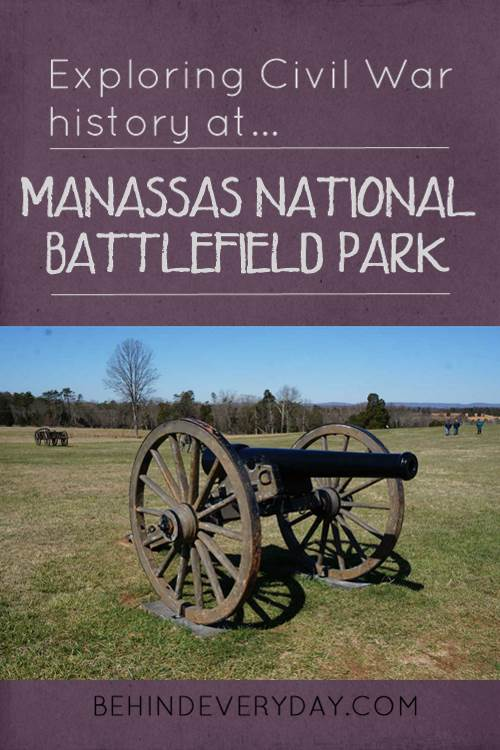 Title Image with text Exploring Civil War History at Manassas National Battlefield Park