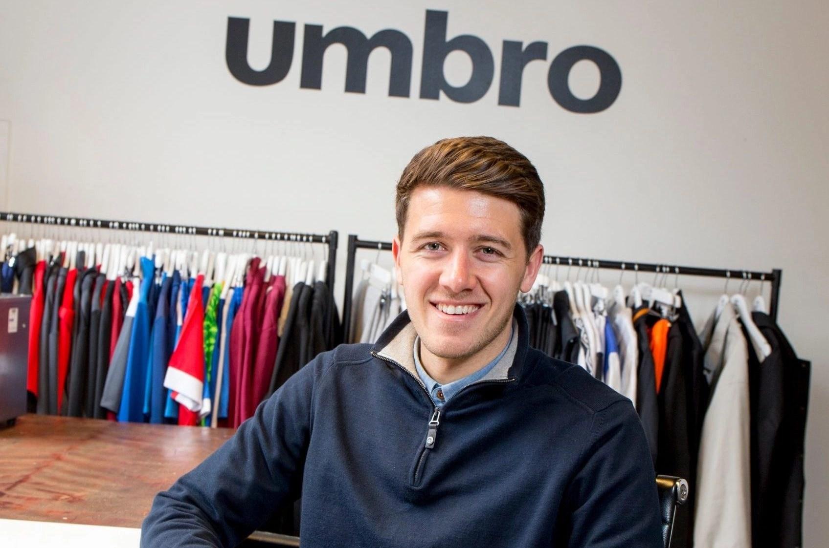 Jonathan McCourt   Marketing Manager at Umbro UK