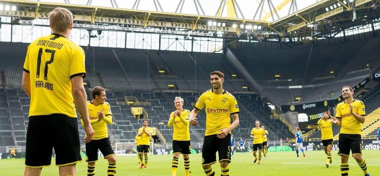 The return of Bundesliga football, minus the fans…