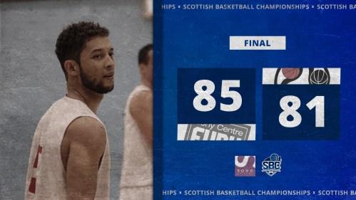 Scotland Basketball Graphic