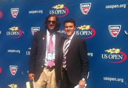 Deepak Trivedi at the US Open