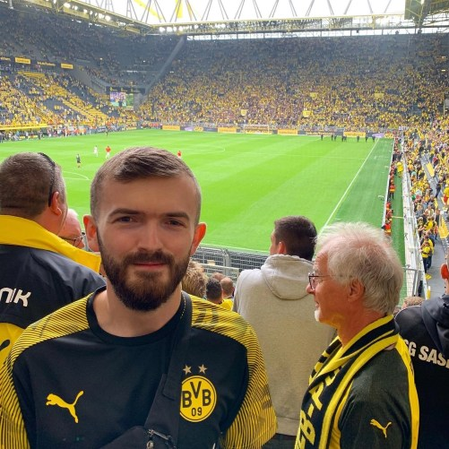 Visiting Borussia Dortmund to see them take on FC Augsburg at the start of the 19/20 season