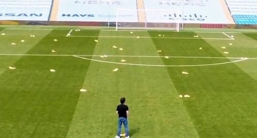 Manchester City's tribute to David Silva on social media