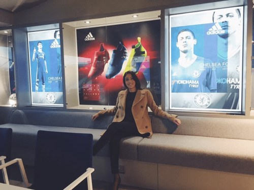 Reem Sarraf at Chelsea