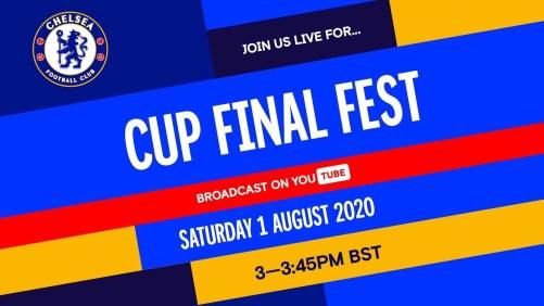 Chelsea's Cup Final Fest was a winner on social media