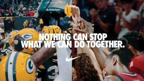 Nike's You Can't Stop Us ad went viral on social media this week.